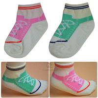 Cbl bootjacks spring and autumn female child non-slip sock male child baby socks  304012