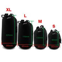 free shipping 4pcs/lot Matin Neoprene waterproof Soft Camera Lens Pouch bag Case 4 pcs Size XL L M S