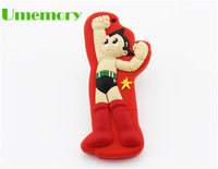 Retail genuine capacity 2gb 4gb 8gb 16gb 32gb Cartoon Astro Boy usb flash drive pen drive memory stick Drop Free shipping