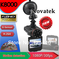 K8000 Car Dvr with 2.0'' TFT,270 degree rotation with HDMI Out Full HD 1080P car video recorder Portable K8000 High Definition