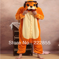Performance Kigurumi Pajamas Animal halloween Cosplay Costume Fleece Golden Lion cartoon sleepwear Free shipping 2 COLOR  0934-3