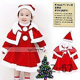 2012 Christmas child performance wear santa claus clothes christmas installation
