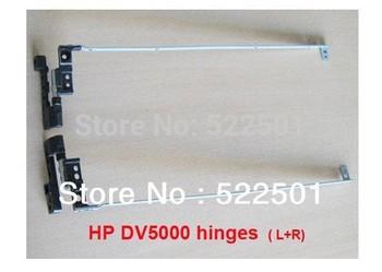New For HP Pavilion DV5000 DV5100 DV5200 P/N AMZIP000700 AMZIP000800 407820-001 Laptop LED LCD Hinge L+ R one pair shipping