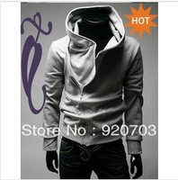 2013 Hoodies Jackets HOT Korea Men's Slim Fit Hoodie Sexy Top Designed men's Jacke men's Coat 4 size 4 colors mix