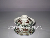Retro riding pattern tureen, priced at $ 10.67 with free shipping.