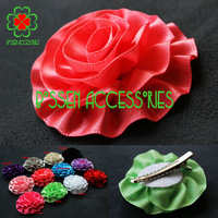 Hot sale! 2.3 inches mini cute girls flower hair clips,baby photography prop hair accessories(50pcs/lot)