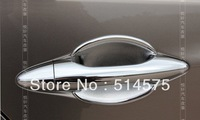 Hyundai ix35 ABS Chrome Door Handle Bowl Door handle Protective covering Cover Trim   for Hyundai tucson  ix35  2009 2010 2011