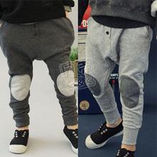 2013 autumn fashion patch boys clothing baby child fleece trousers harem pants kz-1101 K0776(China (Mainland))