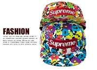 Free shipping supreme printed graffiti flat along the hip-hop hat hip-hop baseball cap Snapbacks