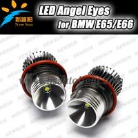7000K Xenon White 10W cree High Power LED Angel Eyes Bulb for BMW E39 E53 E60 E63 E64 E65 E66 E83 5 6 7 Series X3 X5 led marker