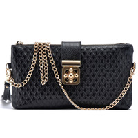 2013 women's genuine leather handbag messenger bag small bag first layer of cowhide fashion women's day clutch