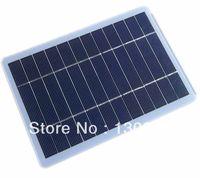 5W/5V  glass solar panel/solar cells/sun energy/solar panel digital charger