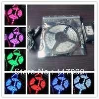 3528 Ornamental+12v 5A Power Adaptor LED Strip light flexible 300LED Self-adhesive Non-Waterproof 6 colors