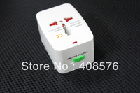 All-In-One Universal Worldwide Travel Adapter Charger Free Shipping