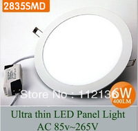 free shipping~factory outlets center-6W slim led panel light( 105mm dia,30pcs smd2835 LED,LED lumen 550lm) 3 years warranty
