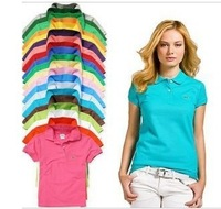 Free Shipping New T-Shirt & have brand logo Shirt 14colors Good Quality Short Sleeve Women T-Shirt Casual have brand logo Tees