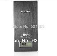 ree shipping 2 Usb Port 16800mAh Pineng PN-912 Power Bank portable charger External Battery for iphone 5 ipad, samsung