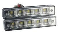 1pair  LED White r Auto Driving Lamp  12V DRL Daytime Running Light