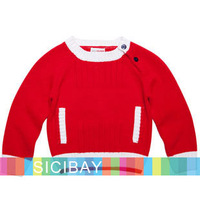 Baby Kids Winter Pullover Sweaters Girls Bottoming Shirt Boys Autumn Wear,Free Shipping  K3199