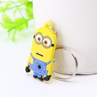 Despicable Me Rubber Keychain