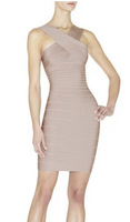 Hot Sale Brand Quality Women Summer Bandage Dress Sleeveless Sheat.h Ladies Formal Evening Party Dresses HL318