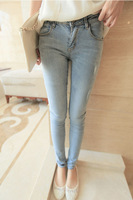 *2014 fashion light feet tight jeans female