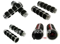"CHROME 1"" HAND GRIPS for Honda Goldwing GL 1500 1800 Shadow 750 1100 VT VTX 1300"