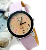 The wrist skin color digital couples with fashion watches the clock - 64557