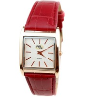 Golden square bar with fashion watches the clock pointer wrist skin - 64553