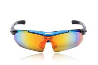 2013 automobile Cycling Bicycle MTB Mountain Bike Fishing Sports  Eyewear Goggle Sunglasses 5 Lens Polarized Replaceabl