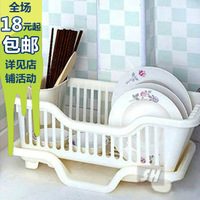 Colorful Large multi-color water dripping bowl rack shelf multifunctional dish drain rack