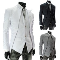 Western style 2013 new men's blazers suits winter autumn wear casual fit suit jackets free shipping