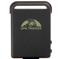 Free Shipping Car GPS Tracker Portable Car GPS Tracker 102 with GSM Alarm Micro SD Card Slot Anti-theft