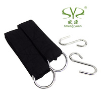 Shengyuan hammock outdoor hammock  tying dedicated super thick nylon straps with hooks 400g