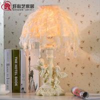Fashion home bedside lamp cupid pendant table lamp fashion rustic