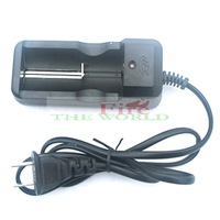 Free Shipping Wholesale Hot Sell 26650 5000mAh 3.7v Rechargeable battery flashlight Torch + Charger