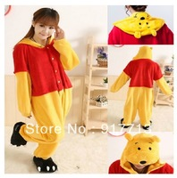 Free Shipping,Fashion Adult Kigurumi Animal bear Sleepsuit Cosplay Pajamas Costume Halloween Christmas Party All Sizes S M L XL