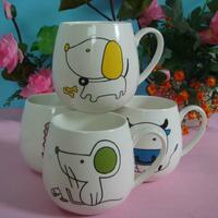 Fashion High quality bone China ceramic cup zodiac cup coffee/water cup for goft Creative Design12 animal motifs FREEshipping