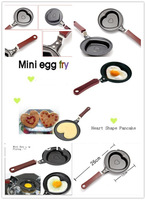 Frying Pan Kitchen Tool Heart Shape Egg Fry Pancake/Chocolate Pot Nonstick Cast Iron BBQ/Outdoor Cooking