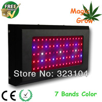 75x3w Red660 Blue430 UV IR 7 Bands Full Spectrum Grow Lights, Great for Indoor Medical Plants Veg and Bloom, 3 Years Warranty
