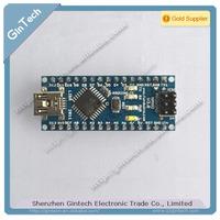free shipping 2pcs/lot for Arduino Nano V3.0 controller ATMEGA328P ATMEGA328 original FT232RL +USB cable