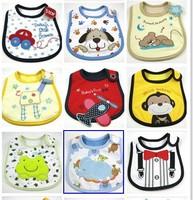 6pcs/lot Baby bibs Infant saliva towels carter's Baby Waterproof bib Mark Carter Baby wear Baby clothes