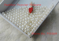 Free Shipping Sewing On Pearl Color Round ABS Loose Beads for DIY Jewellry Accessories 8mm Wholesale imitation Pearl  ivory