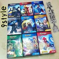 Free Shipping Lowest Price $30 9 pcs/set Super hero Ironman Superman Block Toy Building Blocks Model