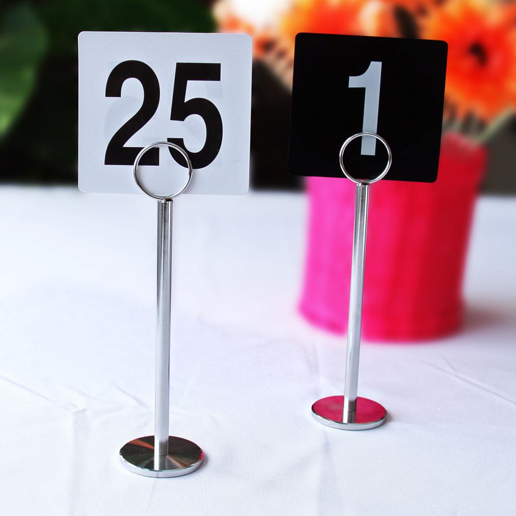 10 идей оформления номера столика 21