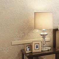 Wallpaper non-woven wallpaper fashion embroidery wallpaper sofa tv background wallpaper