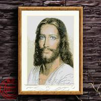Free shipping DIY unfinished Cross Stitch kit Christian Jesus Dmc JDJ-D041