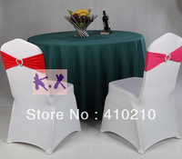 "New Green Color  Size 108"" 100%Polyester Table Cloth\Poly Table Cloth Wedding-280CM Round"