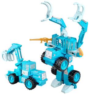 Free shipping Super alloy deformation robot hook car kumgang deformation therein toy 4 3(China (Mainland))