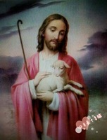 Free shipping DIY unfinished Cross Stitch kit Christian Jesus  grazing szx   gzy6478  painting printed JDJ-D038